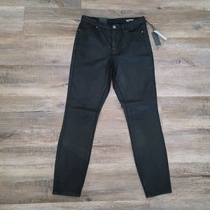 BLANK NYC The Bond Black Coated Jeans sz 30